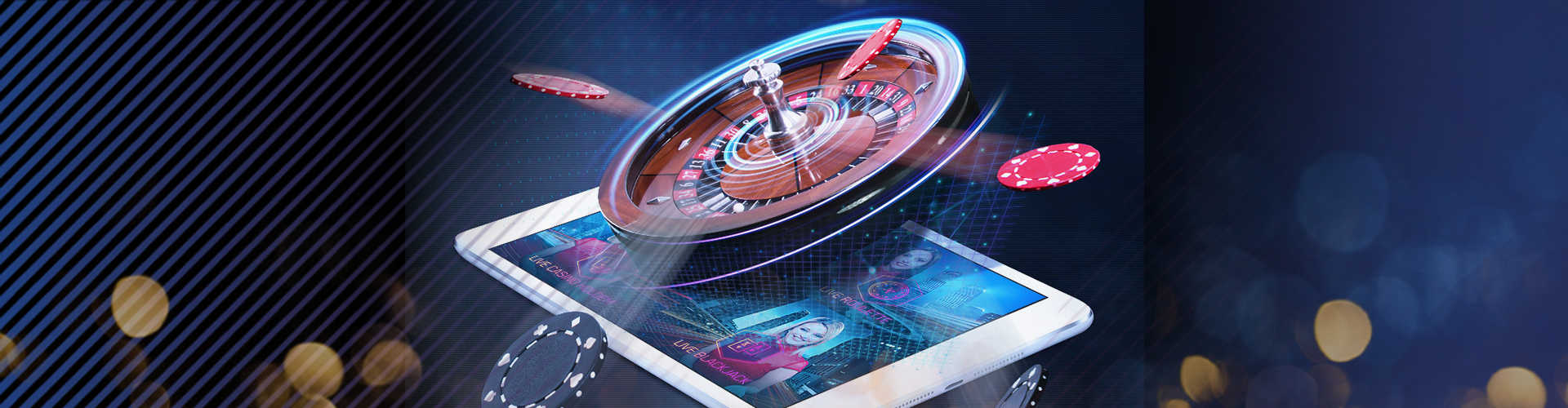 Betting at roulette