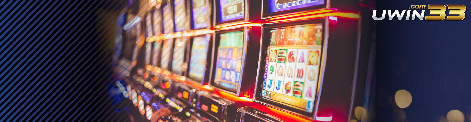 Choose your slot games with UWin33